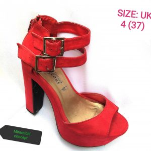 Gorgeous Red Shoe